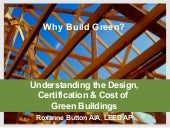 Why Build Green?