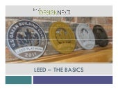 Leed   The Basics