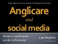 Anglicare and Social Media - Sept2010