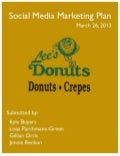 Social Media Marketing Plan - Lee's Donuts