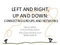 conVerge 11: Connecting for Learning: Left and right, up and down (annotated)
