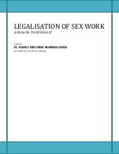 Legalisation of sex work   opposing it