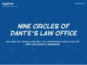 Legal Infographic - 9 Circles of Dante's Law Office
