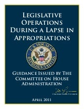 Legislative operations during a lap...
