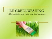 Le Greenwashing