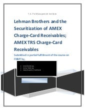 Lehman brothers and the securitizat...