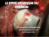 Le kyste hydatique du poumon