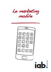 Le Marketing Mobile - IAB France - ...