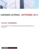 Lennard   september commercial offi...