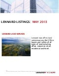 Lennard listings may 2013