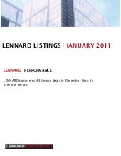 Lennard monthly mailer january