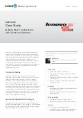 Lenovo Case Study: Igniting new conversations with Sponsored Updates