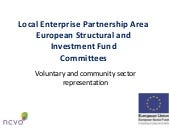 European Structural and Investment Fund Committees