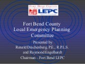 Fort Bend County Local Emergency Pl...