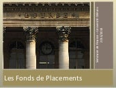 Les fonds de placements