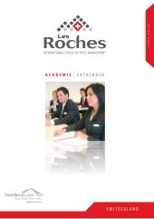Les Roches Academic Catalogue