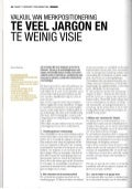 Less jargon, more vision! Article in DUTCH -  Tijdschrift voor marketing