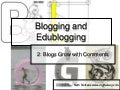 Lesson 2 - Blogs And Commenting