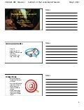 Lesson 26: The Fundamental Theorem of Calculus (handout)
