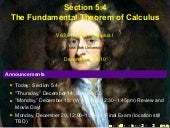 Lesson 26: The Fundamental Theorem ...