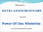 Lesson 2 Revelation Seminars  The S...