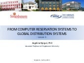 Lesson 3: From Computer Reservation Systems to Global Distribution Systems