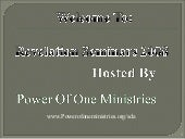 Lesson 3 Revelation Seminars  The V...