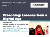 Preaching: Lessons from a Digital Age