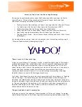 Lessons to Learn from the Yahoo Logo Redesign