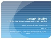 Lesson Study: Collaborating with Ou...