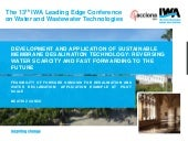 FEASIBILITY OF FORWARD OSMOSIS FOR DESALINATION AND WATER RECLAMATION