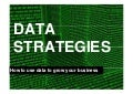 Data Strategies