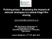 Policing Piracy 2011