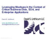 Leveraging Mashups In The Context O...
