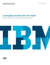 Leveraging security from the cloud