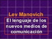 Lev manovich point