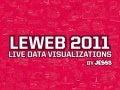 LeWeb 2011 Live Visualizations by JESS3