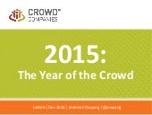 2015: The Year of the Crowd