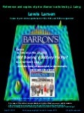 Lewis Larsen-Barrons Magazine Articles by Jon Laing-Published 2013 1999 1988 1986 - April 27 2013
