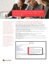 LexisNexis Dossier business intelli...