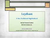 Leytham A New Traditional Neighborh...
