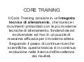 Core training per il calciatore
