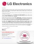 FAKE LG Electronics Pvt. Ltd. India Offer Letter