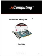 Lg X550 Pci Card With V Space User ...
