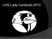 LHS Lady Cardinals 2010