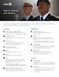 LinkedIn for Veterans tipsheet