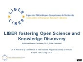 LIBER fostering Open Science and Knowledge Discovery