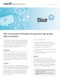Bislr Case Study: Generating high-quality, high-value leads with LinkedIn Sponsored Updates
