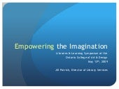 Empowering the Imagination - May 2009