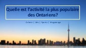 Libraries in ontario  ppt french version